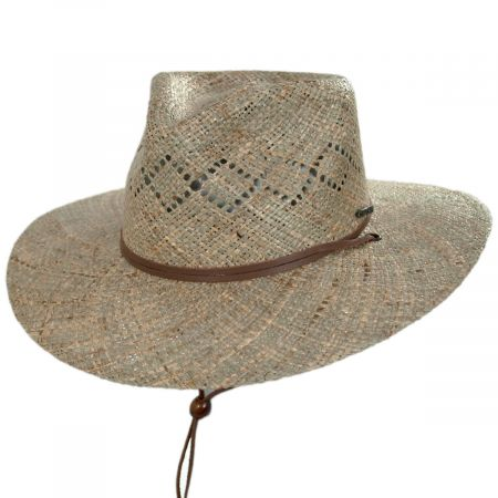 Stetson Terrace Seagrass Straw Outback Hat