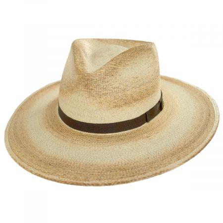 Stetson Sandy Bay Palm Straw Outback Western Hat