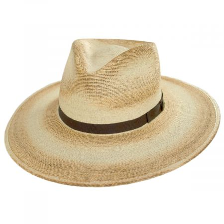 Stetson Sandy Bay Palm Leaf Straw Outback Western Hat