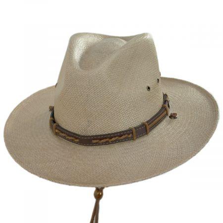 Stetson Vance Panama Straw Aussie Hat