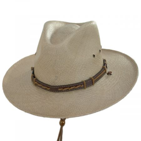 Vance Panama Straw Aussie Hat alternate view 9