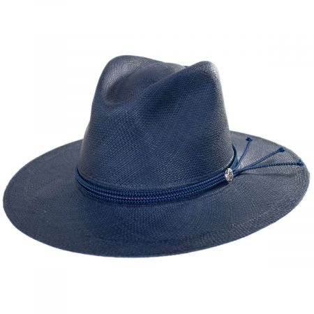 Stetson Four Points Crossover Panama Straw Fedora Hat