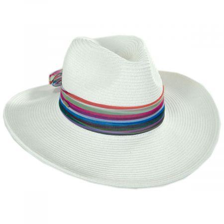 Horizon Toyo Braid Straw Fedora Hat
