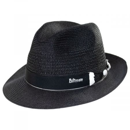 Biltmore Fonte Fiore Braid Reversible Band Fedora Hat