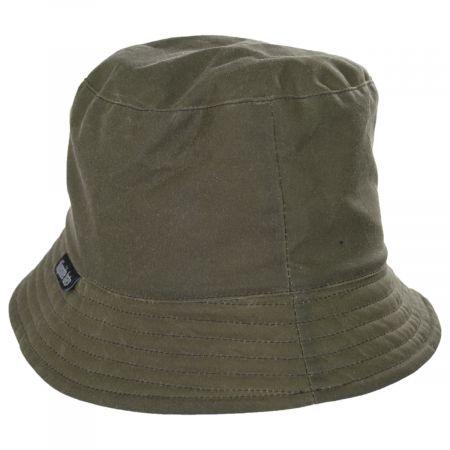 Reversible Waxed Cotton Bucket Hat