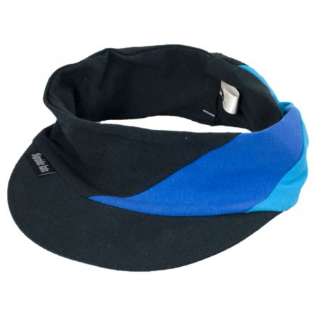 Eco Cotton Blend Stretch Visor
