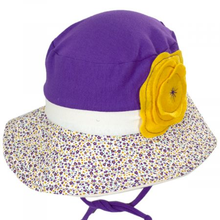 Flipside Kids' Eco Purple Cotton Blend Sun Hat