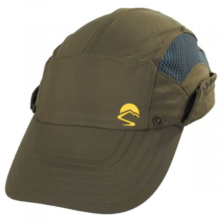 Adventure Stow Flap Cap