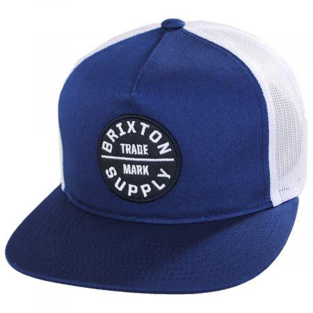 Brixton Hats Oath III Trucker Snapback Baseball Cap