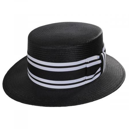 Toyo Straw Boater Hat