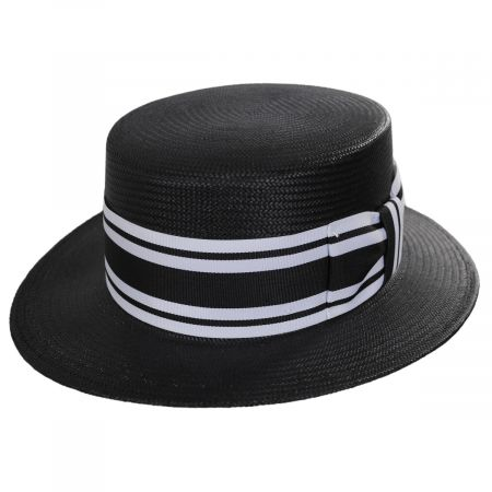 Toyo Straw Boater Hat alternate view 5