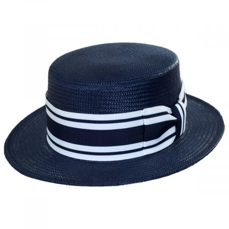 Toyo Straw Boater Hat