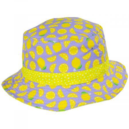 Scala Kids' Fruit Reversible Print Bucket Hat