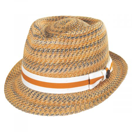 Envie Toyo Straw Fedora Hat alternate view 5