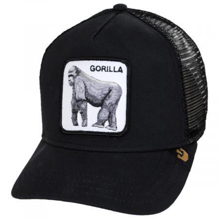 Goorin Bros Silverback Trucker Snapback Baseball Cap - Black