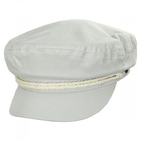 Brixton Hats Ribbed Cotton Fiddler Cap