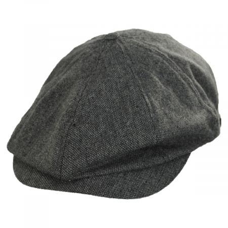 Brood Lightweight Wool Blend Tweed Newsboy Cap