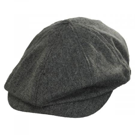 Brixton Hats Brood Lightweight Wool Blend Tweed Newsboy Cap