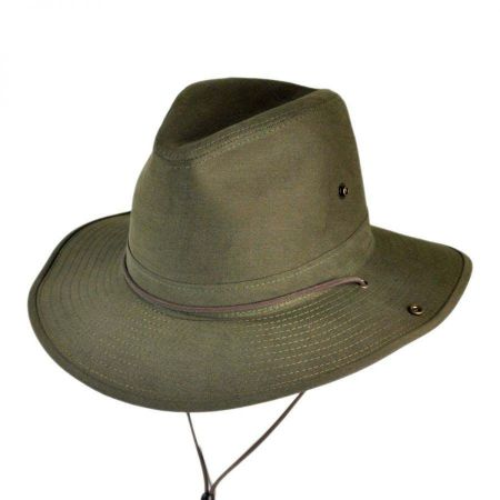Cotton Twill Aussie Fedora Hat alternate view 11