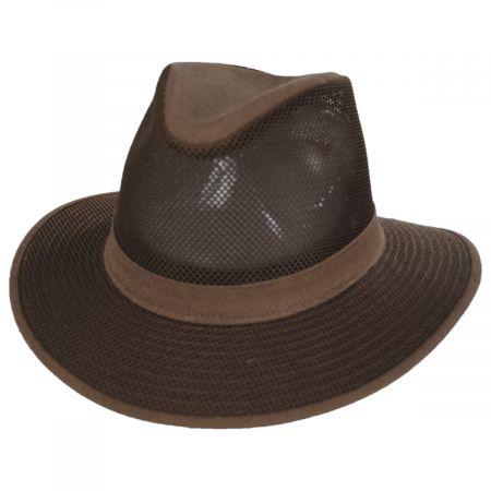 Henschel Packable Mesh Safari Fedora Hat