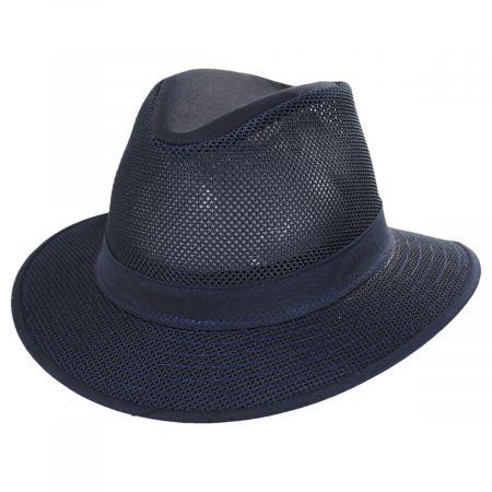 Packable Mesh Safari Fedora Hat alternate view 141