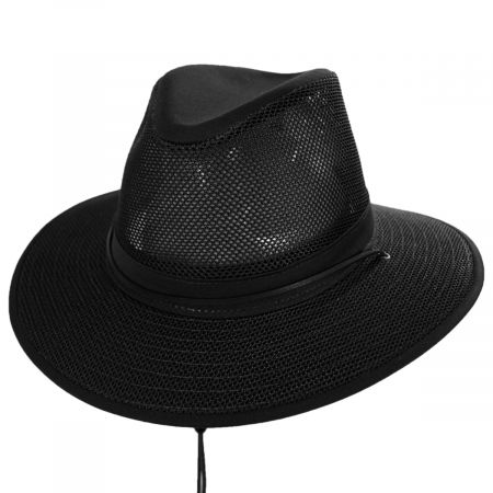 Packable Mesh Aussie Fedora Hat alternate view 26