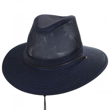 Packable Mesh Aussie Fedora Hat alternate view 46
