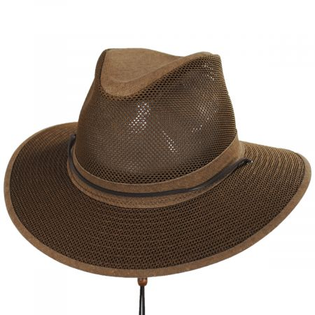 Packable Mesh Aussie Fedora Hat alternate view 114