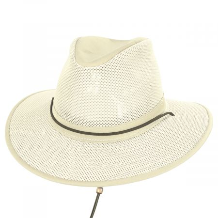 Packable Mesh Aussie Fedora Hat alternate view 122