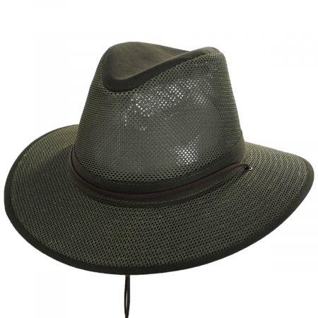 Packable Mesh Aussie Fedora Hat alternate view 90