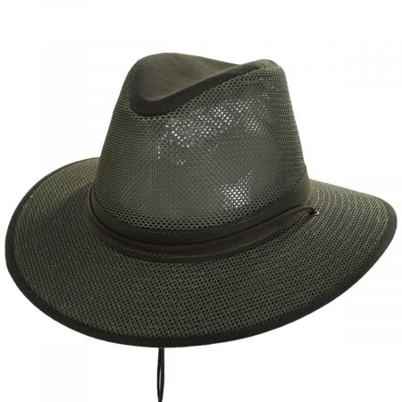 Packable Mesh Aussie Fedora Hat alternate view 118