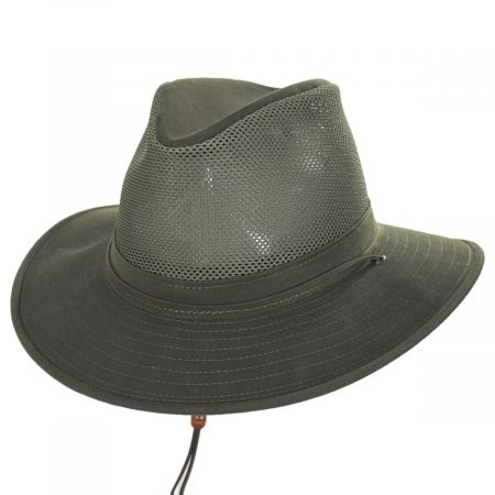 Mesh Cotton Aussie Fedora Hat alternate view 33