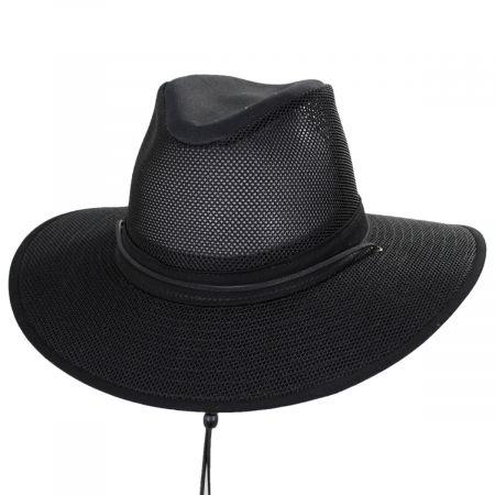 Mesh Aussie Grande Brim Fedora Hat alternate view 25