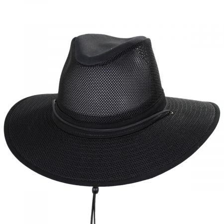 Mesh Aussie Grande Brim Fedora Hat alternate view 41