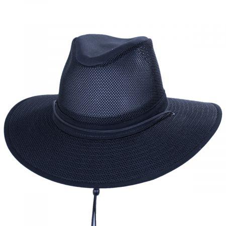 Mesh Aussie Grande Brim Fedora Hat alternate view 21