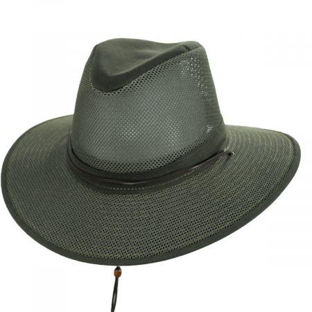 Mesh Aussie Grande Brim Fedora Hat alternate view 97