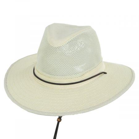 Mesh Aussie Grande Brim Fedora Hat alternate view 129