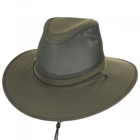 Henschel Solarweave Mesh Aussie Fedora Hat