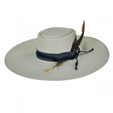 Desert Sky Shantung Straw Planter Hat
