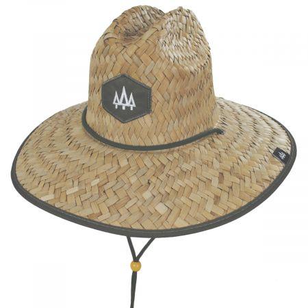 Hemlock Hat Co Ranger Straw Lifeguard Hat