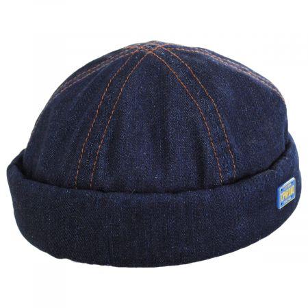 Stetson Texas Denim Skull Cap Beanie Hat