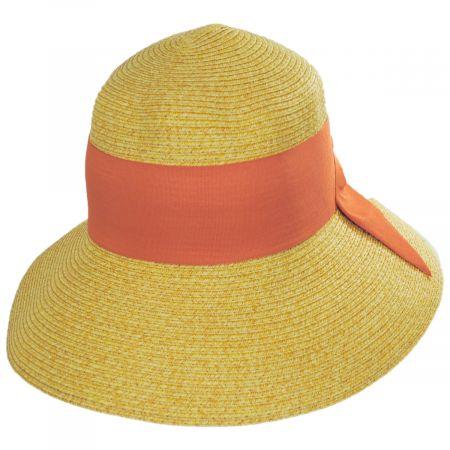Big Bow Braided Toyo Straw Sun Hat alternate view 5