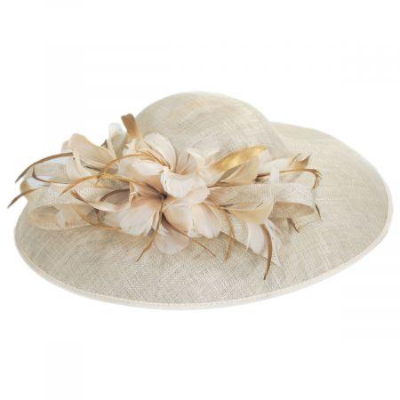 Tacitus Sinamay Straw Fascinator/Hatinator alternate view 5