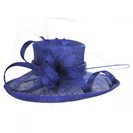 Seregenti Sinamay Straw Dress Hat
