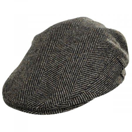 Stefeno Wales Herringbone Wool Ivy Cap