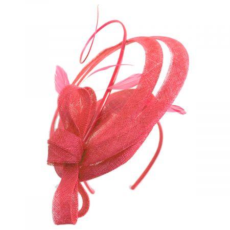Scala Chelmsford Sinamay Straw Fascinator Hat
