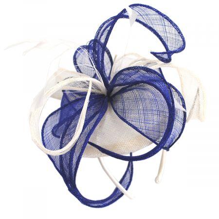 Vekoma Sinamay Straw Fascinator Hat alternate view 5