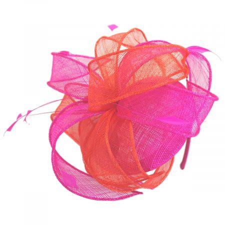 Scala Vekoma Sinamay Straw Fascinator Hat