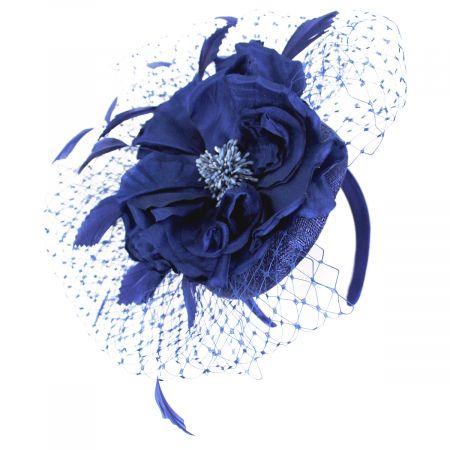 Kentucky Derby Alexandria Sinamay Straw Fascinator Hat