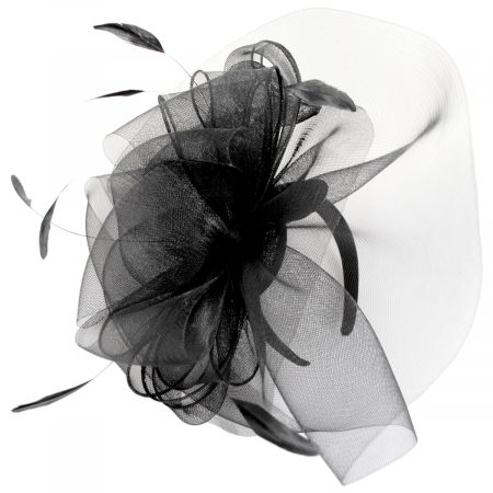 Kentucky Derby Duvalle Crinoline Fascinator Headband